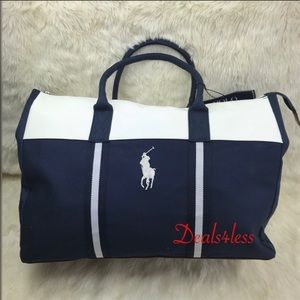 Polo Ralph Lauren Duffel Bag Weekender Travel NWT